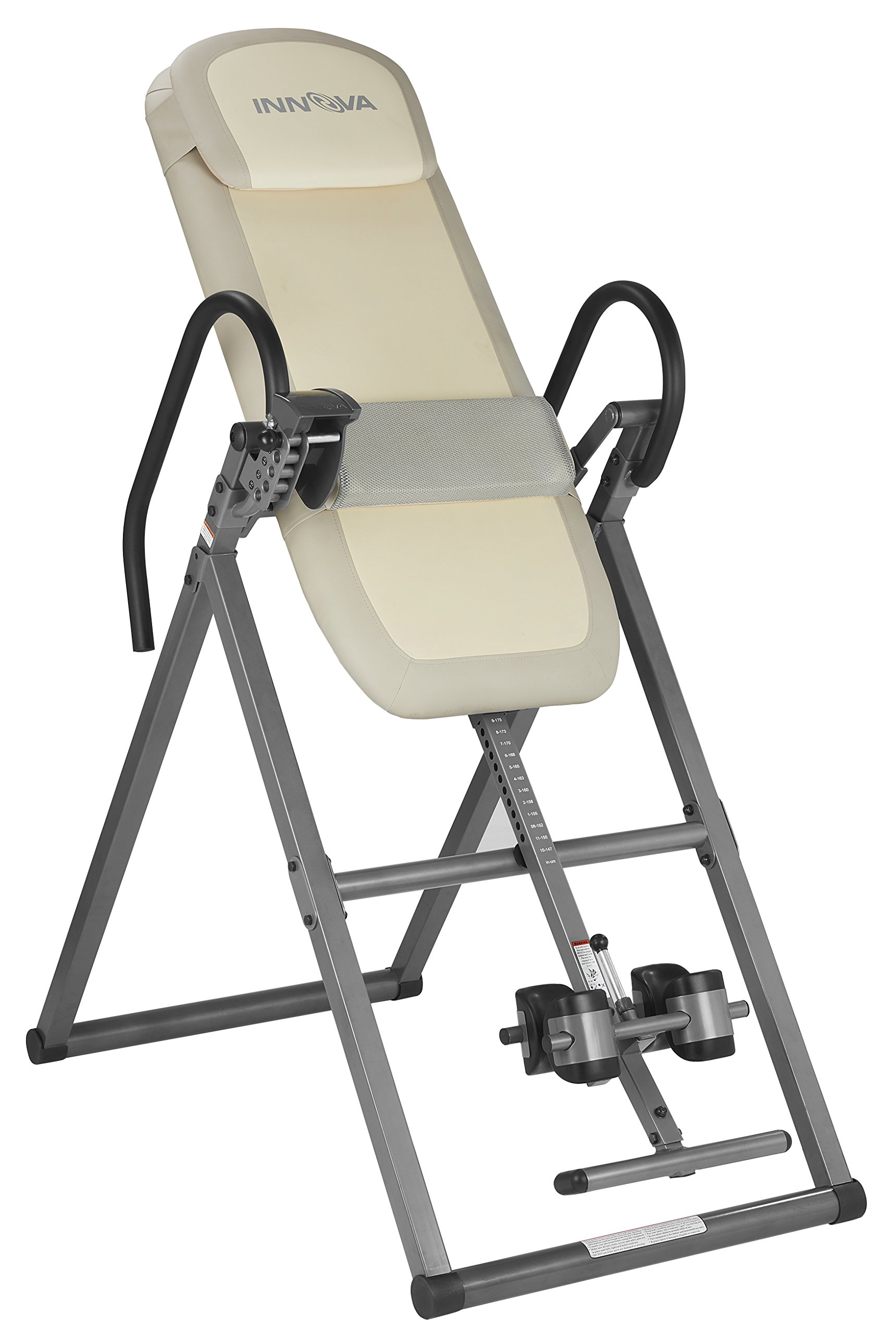 Innova ITX9700 Memory Foam Inversion Table with Lumbar Pad for Hot and Cold Compress by Innova Health and Fitness
