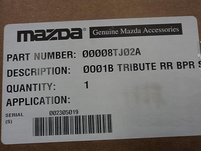 2004-2006 Mazda Tribute Rear Bumper Guard Genuine OEM NEW Part # 0000-8T-J02A