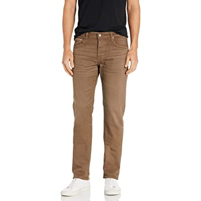 AG Adriano Goldschmied Men's Matchbox in 2 Years Forest Brown, 28: Clothing