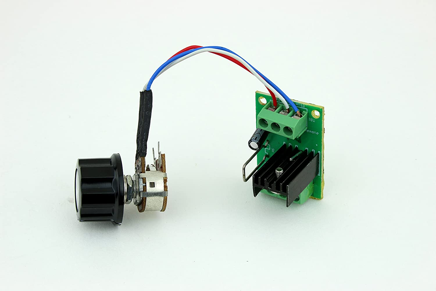Interior LED Dimmer PWM DC Lighting Dimmer Controller with Remote ...