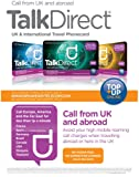 Talk Direct International Travel Prepaid Calling Card - Call from UK & abroad for less than 1p a minute