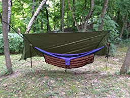 Amazon Com Eagles Nest Outfitters Doublenest Hammock