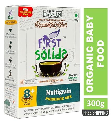 ecfa249d8ea0 First Solids Organic Baby Food Multigrain Porridge Mix 300g (8+ ...