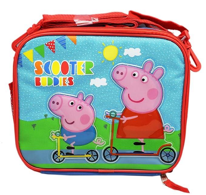 Peppa Pig - Patinete Buddies - Bolsa para el almuerzo ...