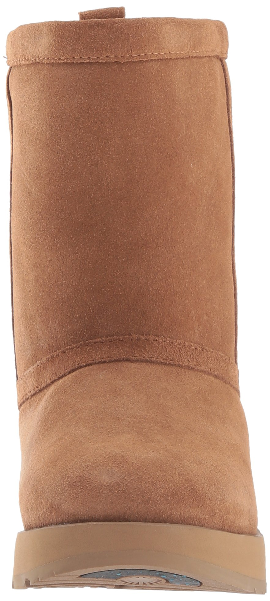 UGG Women's Classic Short Waterproof Snow Boot, Chestnut, 9 M US by UGG (Image #4)