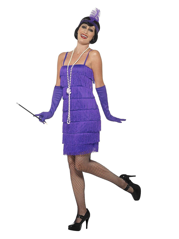 color morado Smiffy s Women 1920/Flapper Disfraz Tama/ño peque/ño