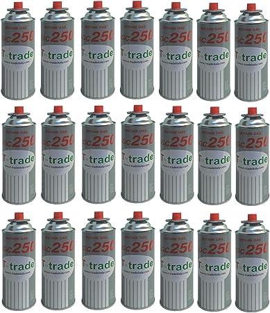 altigasi 21 unidades – Cartucho Bote de gas licuado 250 gr Art. kcg250 Ideal soldador Soplete estufa O hornillo Bistro Compatible Campingaz brunner