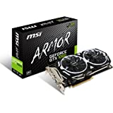 MSI Computer GTX 1060 Armor 6G OCV1 NVIDIA GeForce GDDR5 DVI/2HDMI/2DisplayPort PCI-Express Video Card