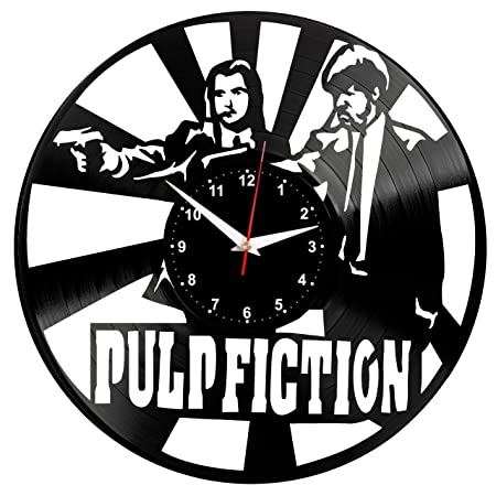 EVEVO Pulp Fiction Reloj De Pared Vintage Diseño Moderno ...