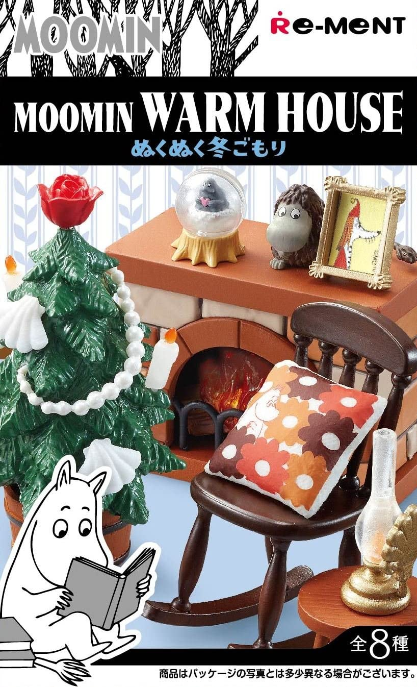 Moomin Homestyle Dishes Fun dining table BOX item 1 BOX = 8 pieces all 8 types
