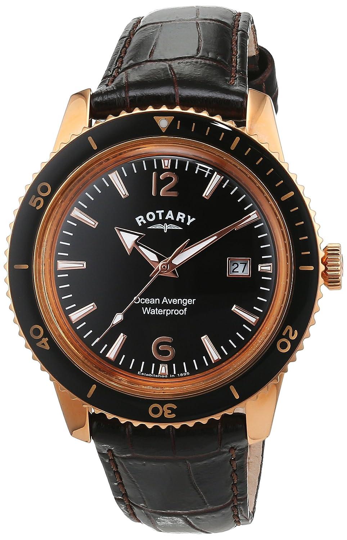 Rotary Herren - Armbanduhr Analog Quarz GS02696-04