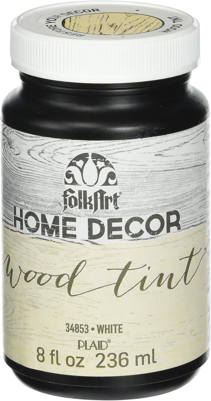 FolkArt Home Decor Wood Tint (8 Ounce), 34853 White