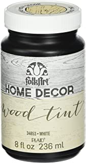 product image for FolkArt Home Decor Wood Tint (8 Ounce), 34853 White