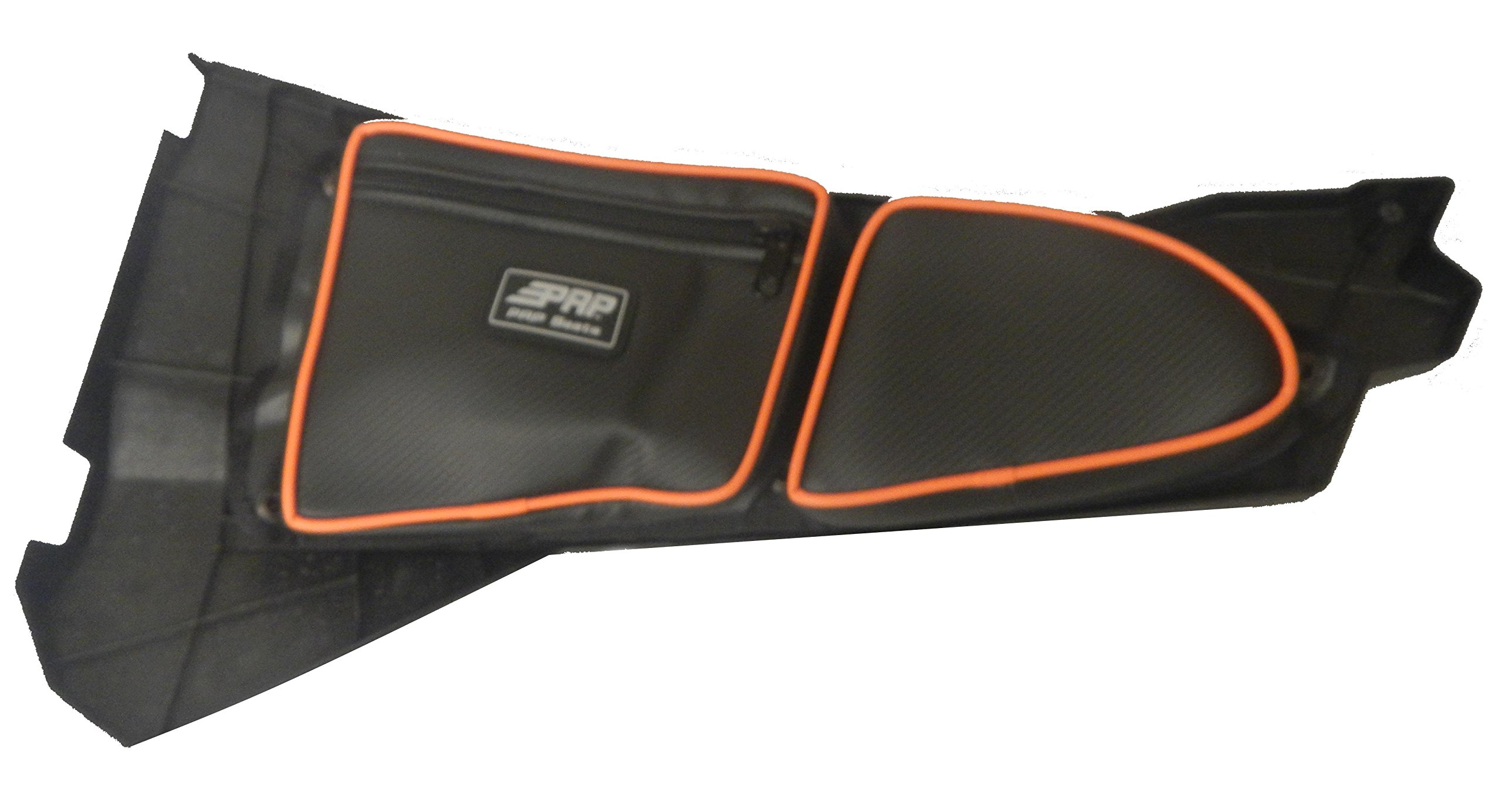 PRP Door Bags SET 2 SEATER FRONT RZR 1000 XP1K 2015+ RZR900S 900XC ORANGE PIPING #E36-37215 by Adrenaline Cycles (Image #1)