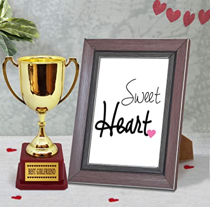 Amazon com: TiedRibbons Quoted Wooden Photo Frame(Image