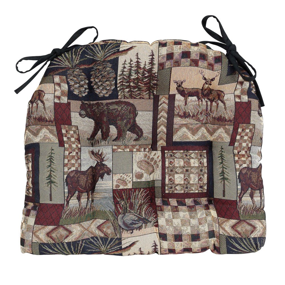Black Forest Decor Woodland Cabin Chair Pad - Cabin Furniture by Black Forest Decor (Image #1)