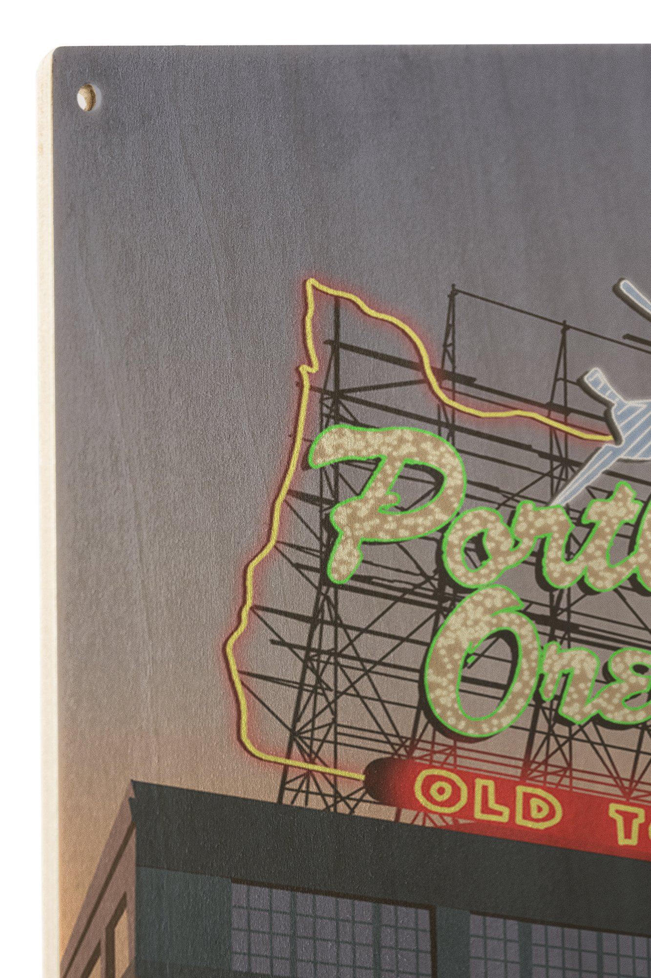 Portland, Oregon - Made in Oregon Sign (10x15 Wood Wall Sign, Wall Decor Ready to Hang) by Lantern Press (Image #2)