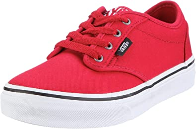 Vans Atwood Youth US 2.5 Red Sneakers