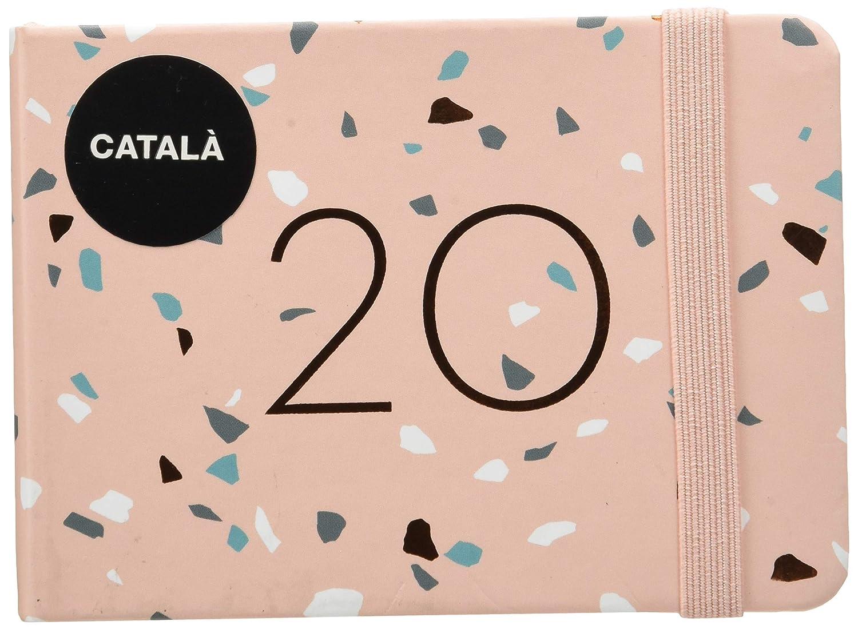 Miquelrius 31814 - Agenda 2020, Día Página (90 x 140 mm), de bolsillo, Manila, Catalán