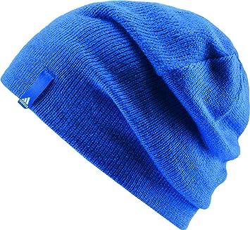 adidas Boy's Performance Beanie Hat, Blue, Size:OSFW