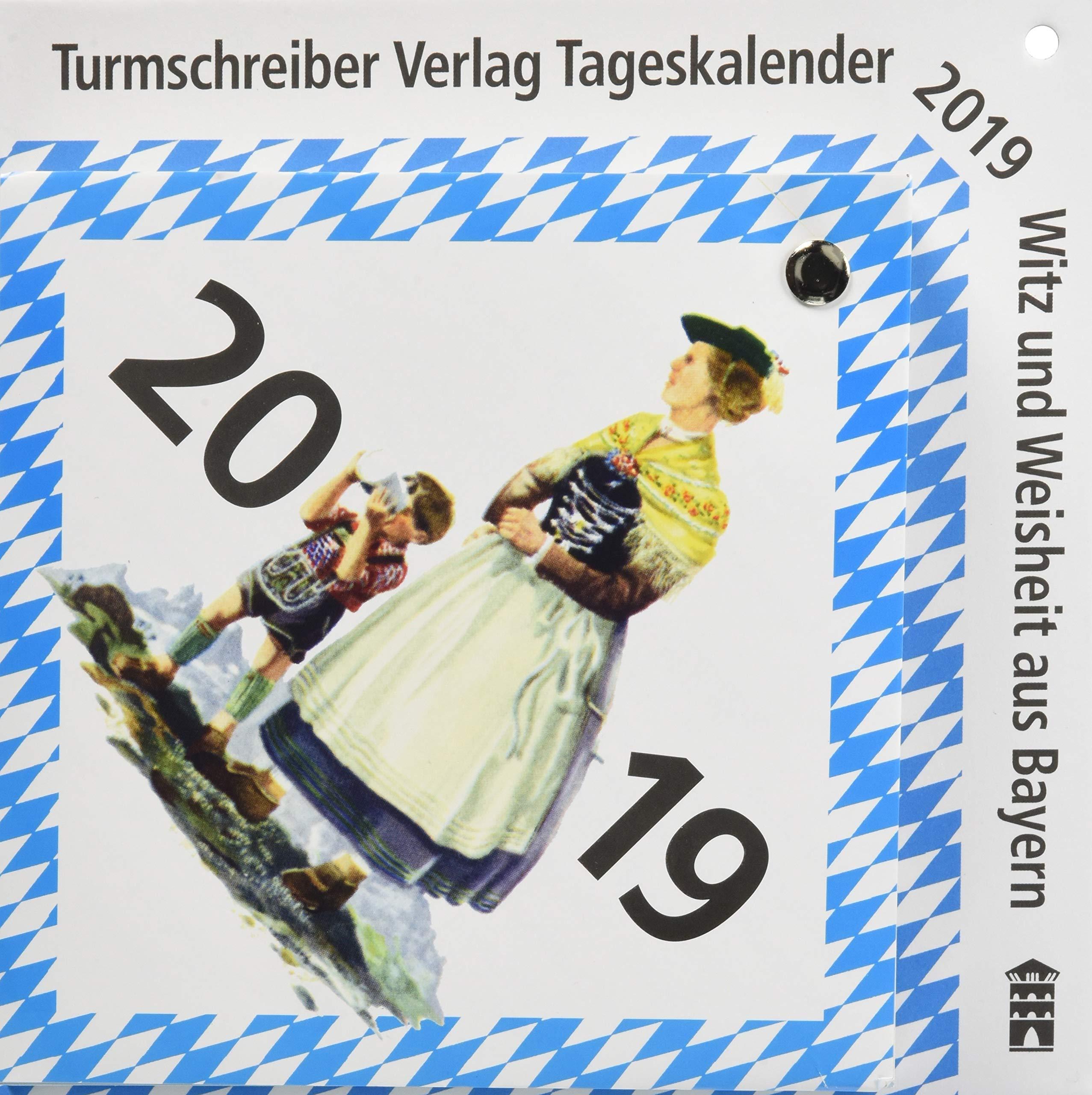 Turmschreiber Tageskalender 2019 Witz Und Weisheit Aus
