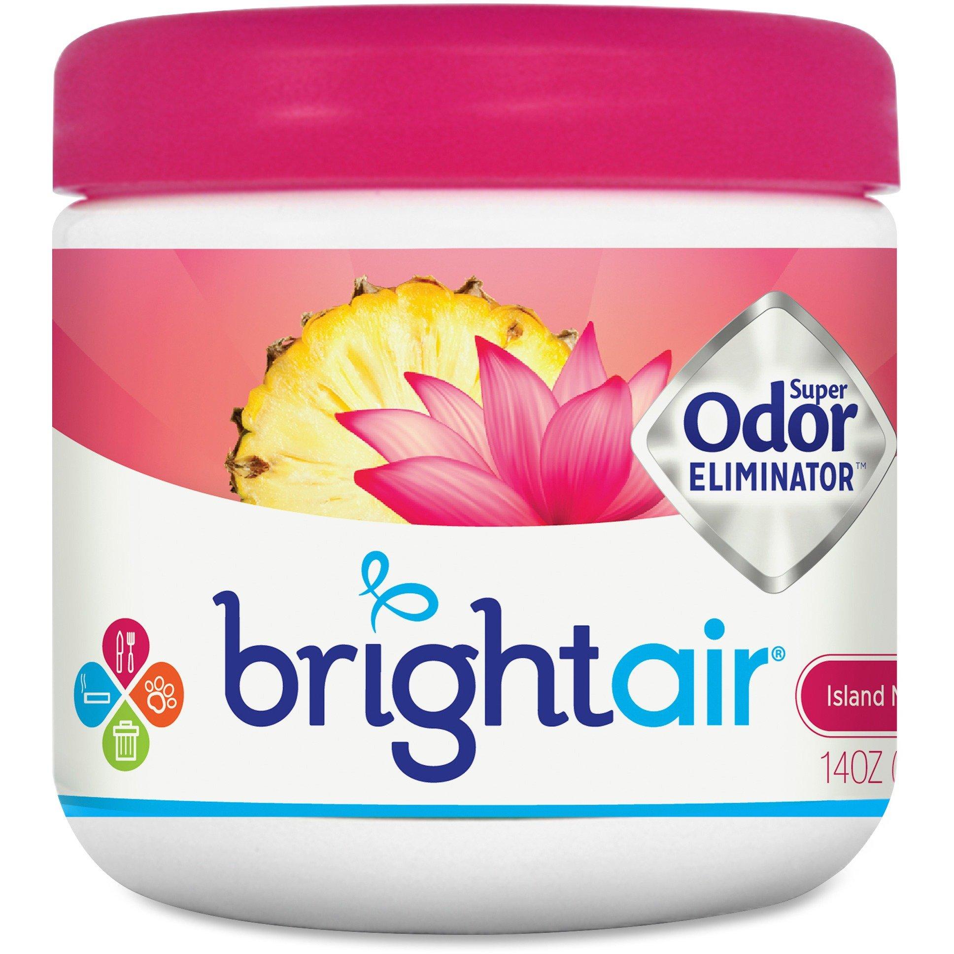 Bright Air 900114 Super Odor Eliminator 14 oz. Island Nectar/Pineapple