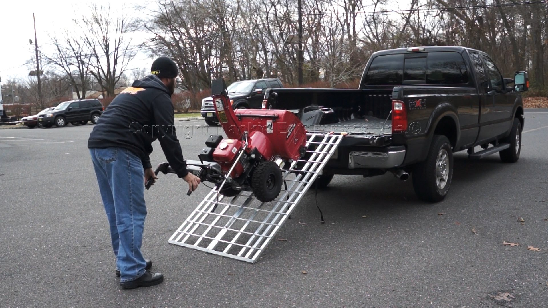 6 ft. Aluminum Folding Ramp Mfg in the USA, 400 - ATV/Snow Blower Ramp