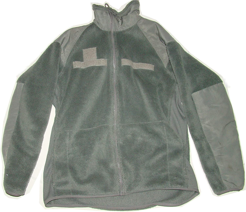 Pack US Large Long. Military Army Foliage Acu Green Fleece Polartec Jackets 5