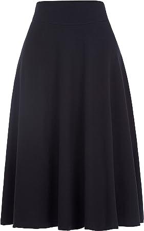 Falda elegante para mujer,Por favor, ten en cuenta nuestra tabla de tallas como la imagen en la part