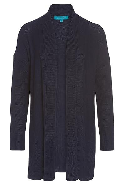 640c689ddb3fa7 COOL CODE Cardigan mit Schalkragen - Damen Strick-Jacke Frauen Langarm lang  Basic casual: Amazon.de: Bekleidung
