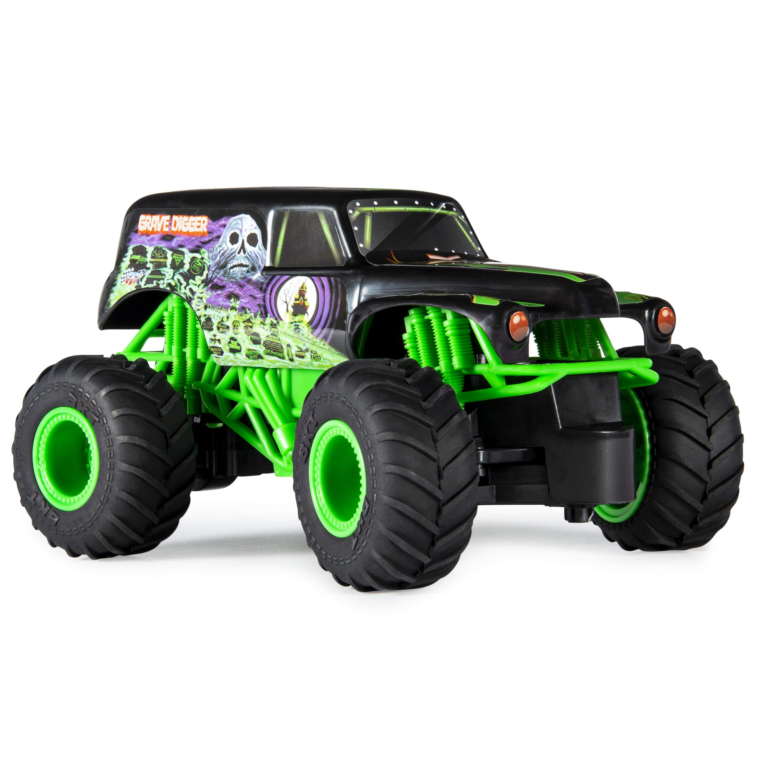 Monster Jam Official Grave Digger Remote Control Monster Truck, 1:24 Scale, 2.4 GHz, for Ages 4 and Up by Monster Jam (Image #5)
