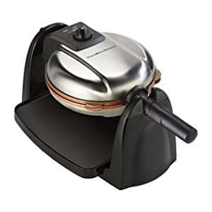 Hamilton Beach 26031 Removable Grid Belgian Waffle Maker 16.00 x 10.50 x 9.25 in