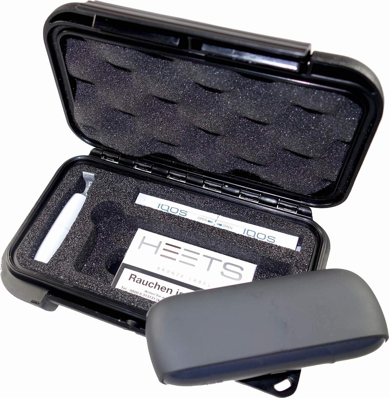 Heets Reinigungs-Sticks MAX PRODUCTS Transportbox Etui para Original IQOS 3 con passender Hartschaumeinlage para Pocket Charger no Incluido Holder Reinigungsstift