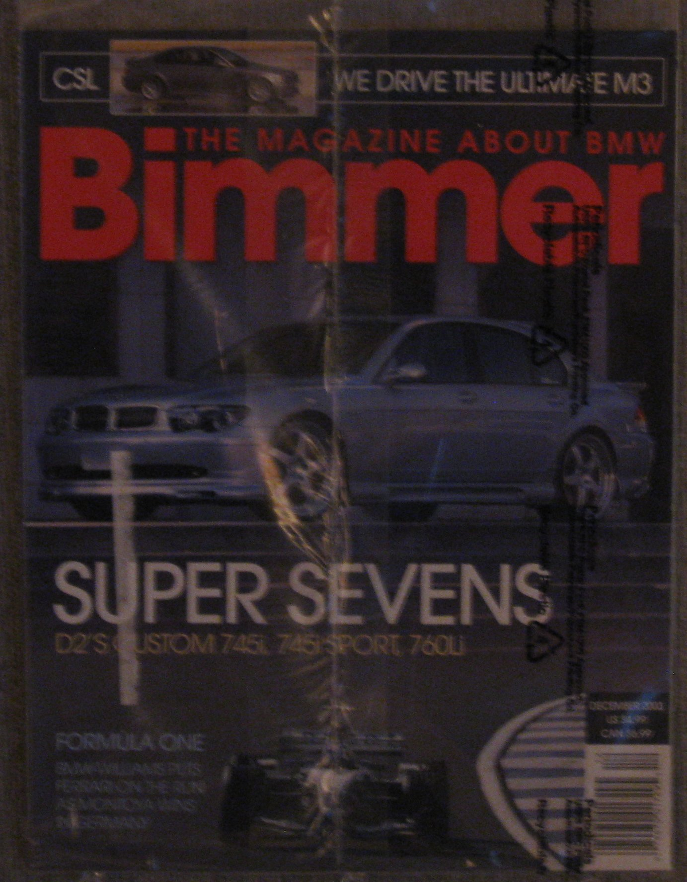 Bimmer The Magazine About BMW December 2003 ebook