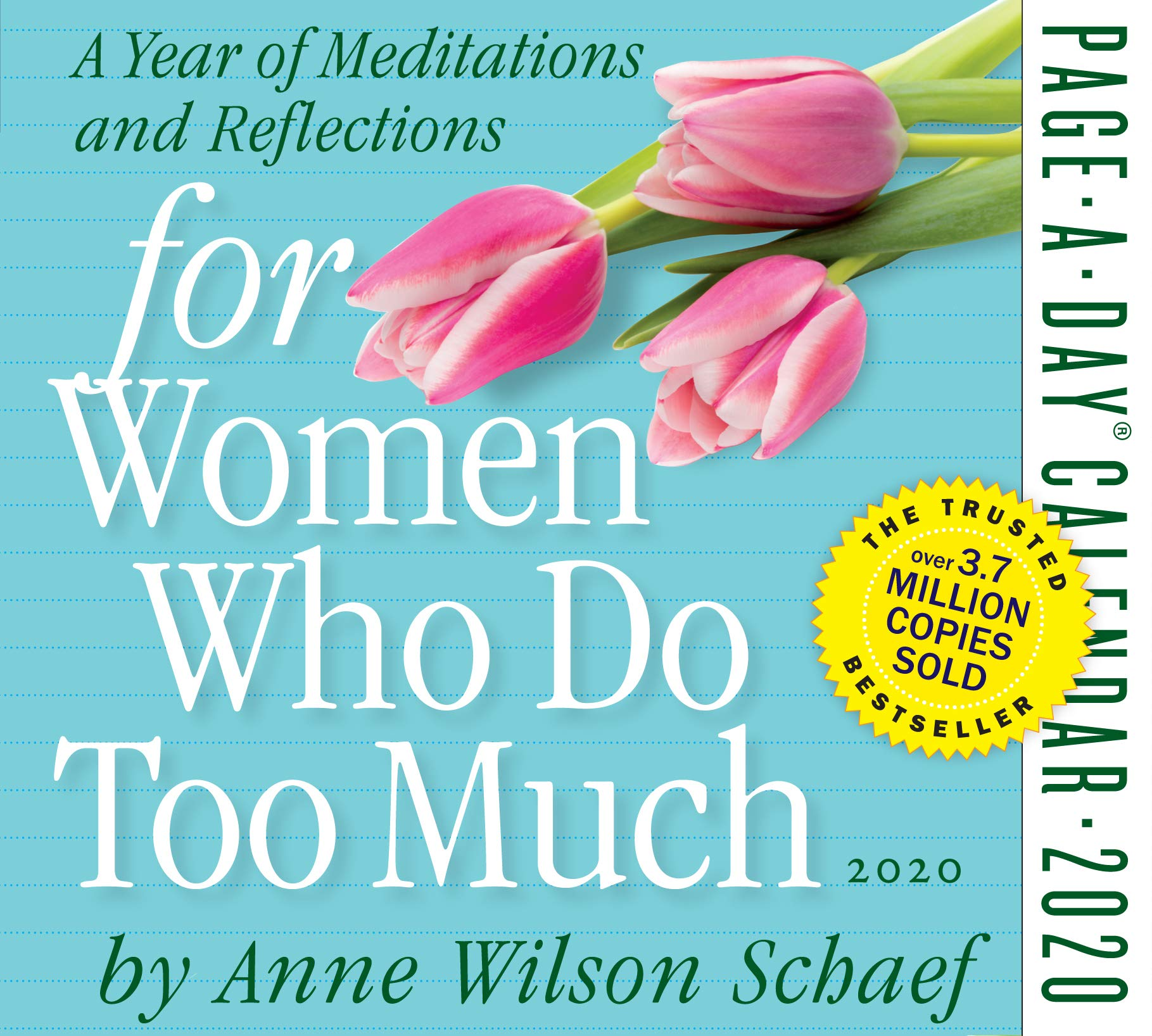 A Day To Remember Tour 2020 For Women Who Do Too Much Page A Day Calendar 2020: Anne Wilson