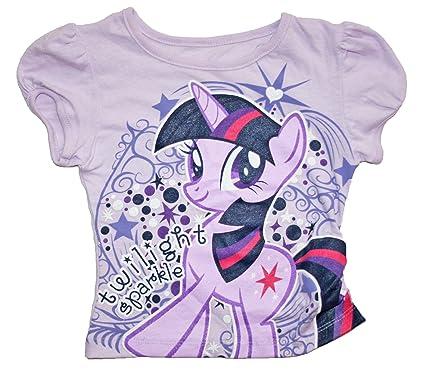 b5d9ed16f Amazon.com  My Little Pony Twilight Sparkle Little Girls Shirt (2T ...