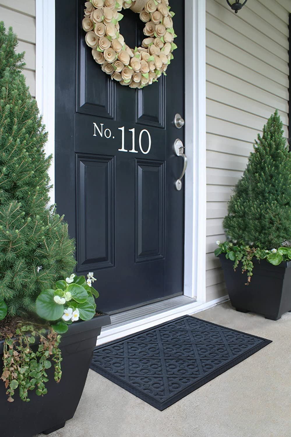 Amazon.com : Alpine Neighbor Door Mat | Washable Indoor/Outdoor ...