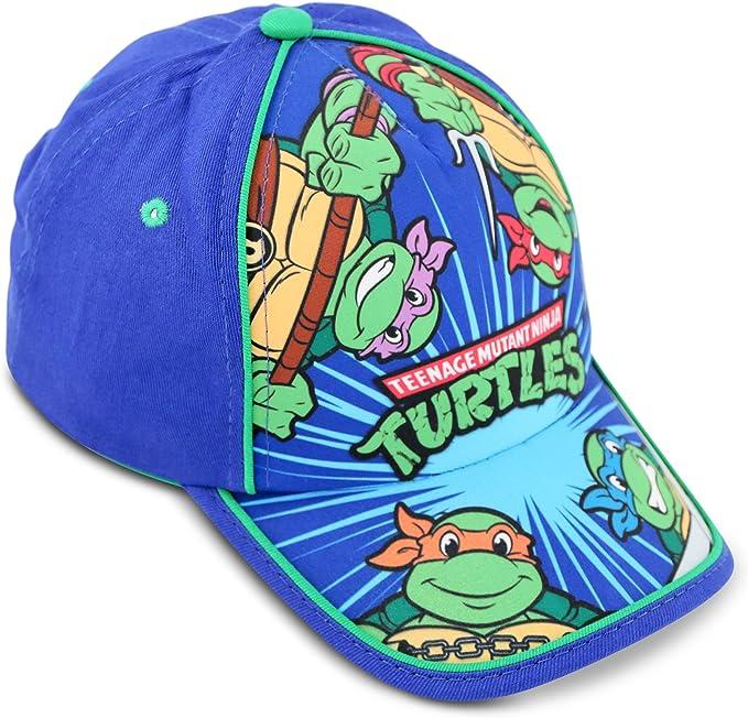 Nickelodeon Little Boys TMNT Cotton Baseball Cap, Age 2-5