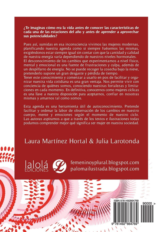 Agenda de la mujer: Diario menstrual (Spanish Edition ...
