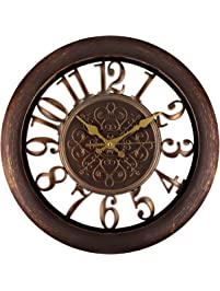 Superbe Adalene Wall Clocks Large Modern   Battery Operated Non Ticking 13 Inch  Elegant Wall Clock Silent
