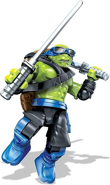 Mega Bloks Teenange Mutant Ninja Turtles: Out of The Shadows Rocksteady Moto Attack Playset