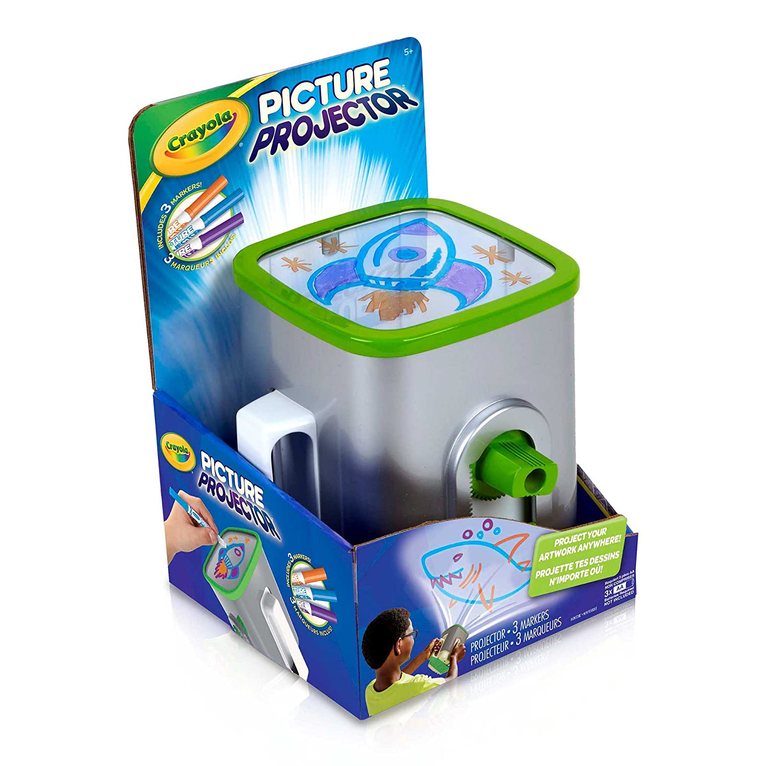 Amazon.com: Crayola Picture Projector: Toys & Games