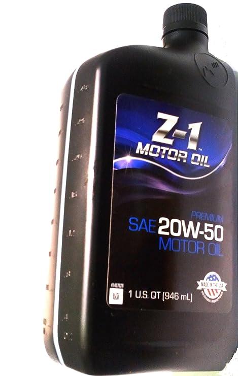 Genuine Z-1 SAE 20 W-50 - Aceite Motor Avanzada anticaídas ...