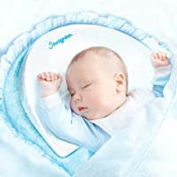 Universal Bassinet Wedge for Baby Newborn by INSIGNIAN | Baby Wedge Infant Sleep Positioner | 12-Degree Incline for Better Night's Sleep | Waterproof Cotton Cover | Baby Wedge Sleeper Baby Pillow