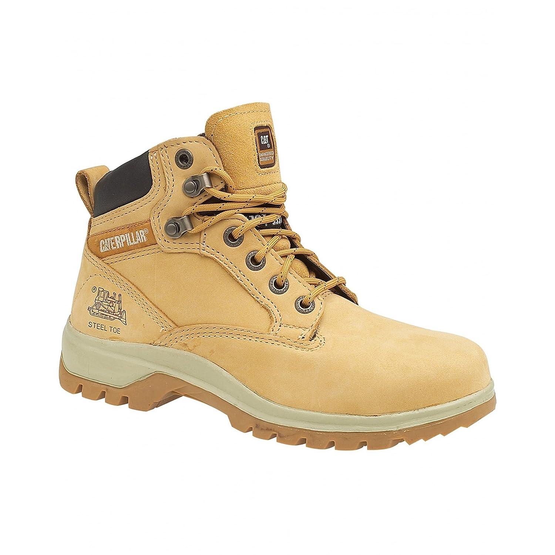 Caterpillar Chaussures femme Miel montantes de Chaussures sécurité Kitson pour femme Miel 93b66e6 - reprogrammed.space
