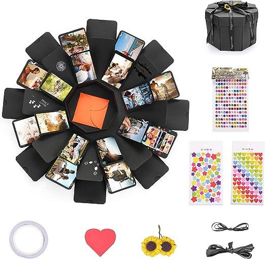 KATELUO Explosion Box Scrapbook Creative DIY Photo Album,Caja de ...