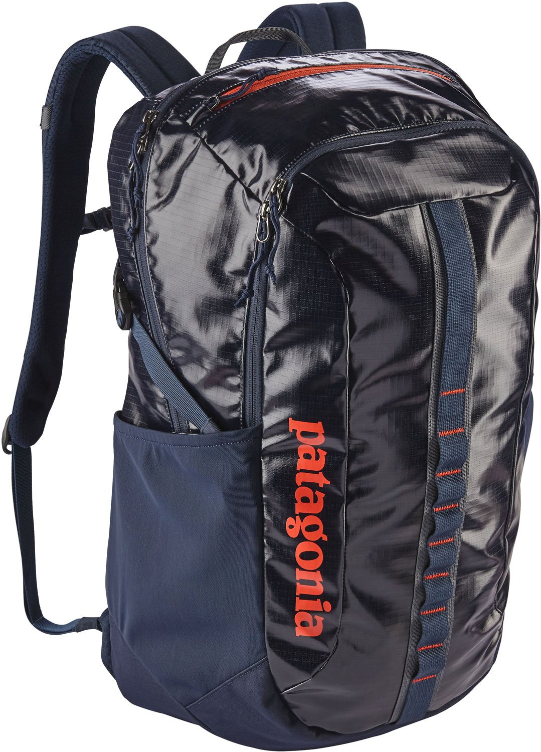 Patagonia Black Hole Pack 30L Navy Blue w/ Paintbrush Red