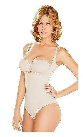 7a40d3198334 DIANE & GEORDI 002375 Slimming Body Shaper for Women | Fajas Colombianas  Beige