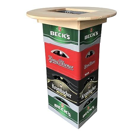 [pro.tec] Tablero de Mesa para Cajas de Cerveza - Mesa Alta -