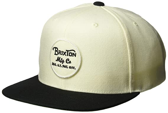846482ec8b436 Amazon.com  Brixton Men s Wheeler Medium Profile Adjustable Snapback ...